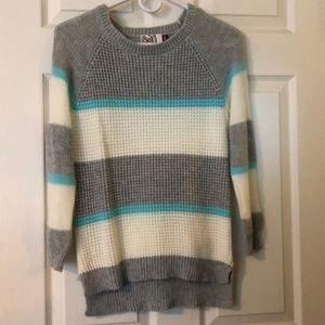 Block striped sweater
